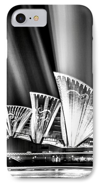 Sparkling Blades Bw IPhone Case