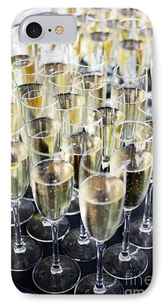 Sparkling Wine IPhone Case by Kati Molin