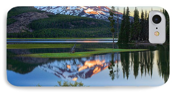 Sparks Lake Sunrise IPhone Case by Inge Johnsson