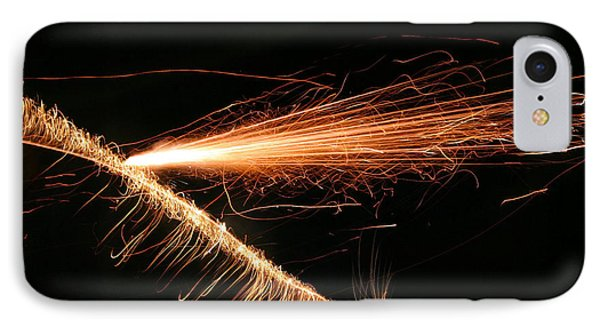 Sparks Will Fly Phone Case by Kristin Elmquist