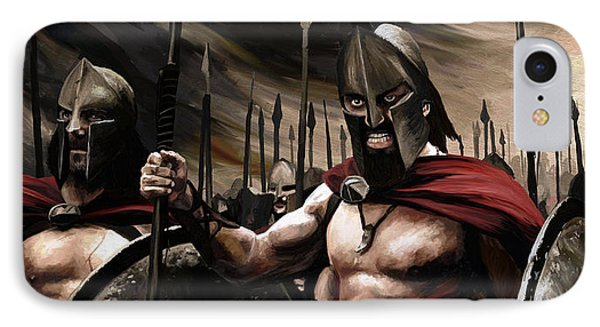Spartans 300 IPhone Case