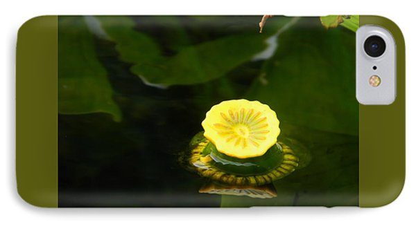 Spatterdock Reflections IPhone Case by Warren Thompson