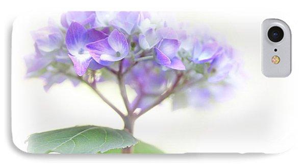 Speak Softly Hydrangea Flower IPhone Case by Jennie Marie Schell