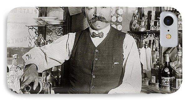 Speakeasy Bartender IPhone 7 Case by Jon Neidert