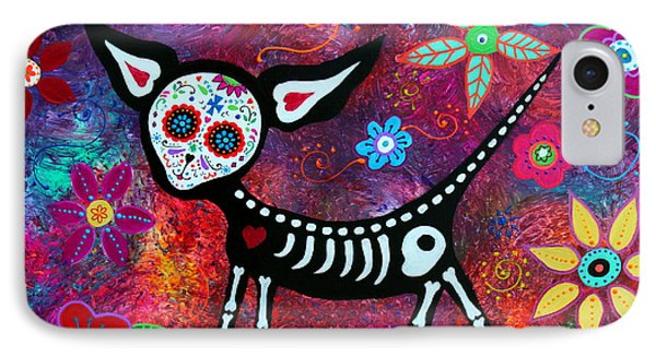 IPhone Case featuring the painting Special Perrito by Pristine Cartera Turkus