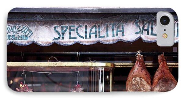 Specialita Salumi Phone Case by John Rizzuto