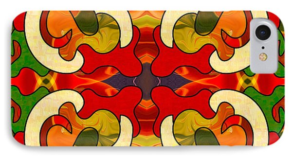 Specialized Suggestions Abstract Art By Omashte IPhone Case by Omaste Witkowski