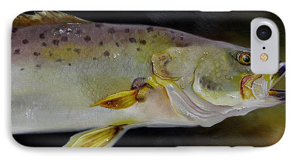 Speckled Trout Study IPhone Case by Phyllis Beiser