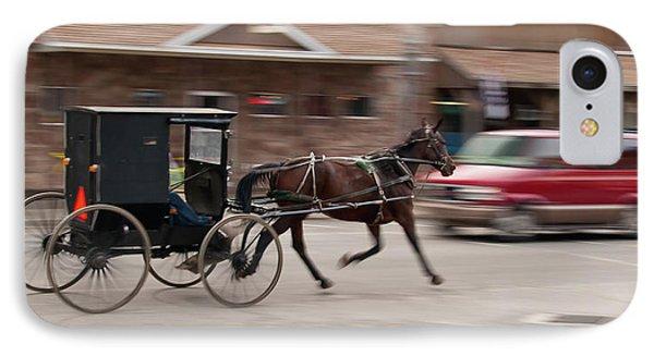 Speeding 3271 Phone Case by Guy Whiteley