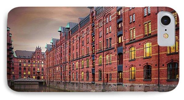 Speicherstadt Hamburg Germany  IPhone Case