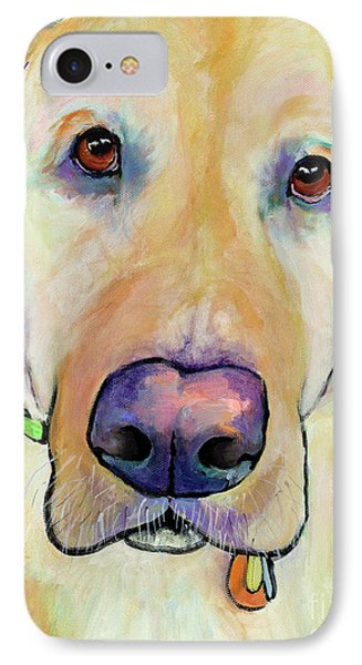Spenser IPhone Case by Pat Saunders-White