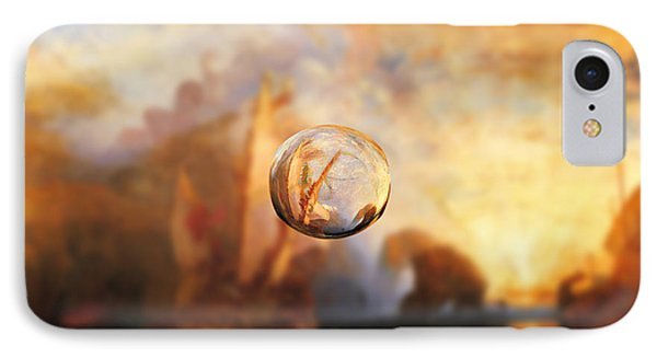 Sphere 11 Turner IPhone Case by David Bridburg