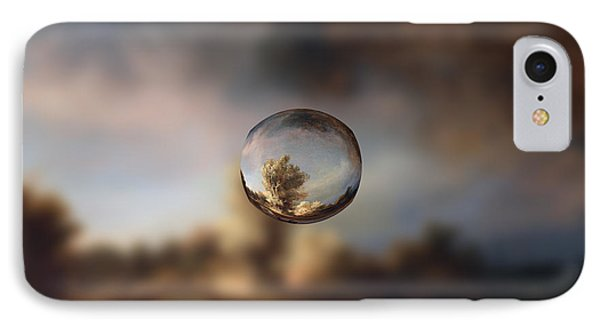 Sphere 13 Rembrandt IPhone Case by David Bridburg