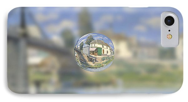 Sphere 18 Sisley IPhone Case by David Bridburg