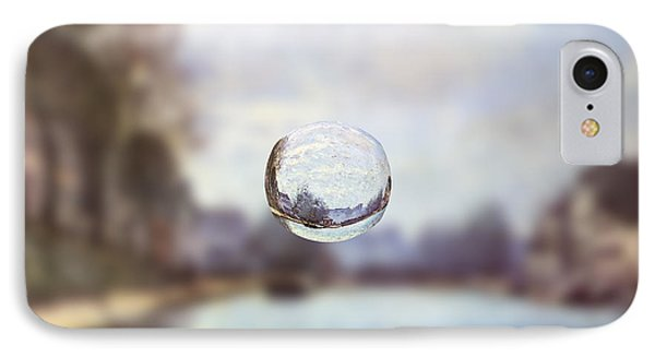 Sphere 23 Sisley IPhone Case by David Bridburg