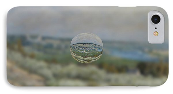 Sphere 24 Sisley IPhone Case by David Bridburg