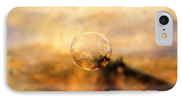 Sphere 8 Turner IPhone Case by David Bridburg
