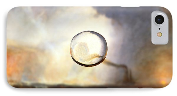 Sphere I Turner IPhone Case by David Bridburg