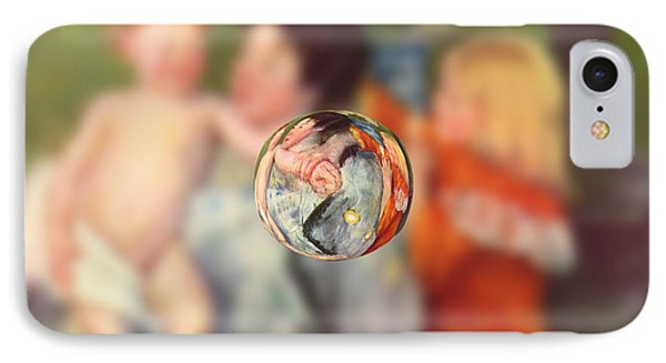 Sphere II Cassatt IPhone Case by David Bridburg