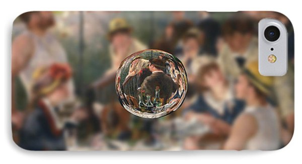 Sphere 4 Renoir IPhone Case by David Bridburg