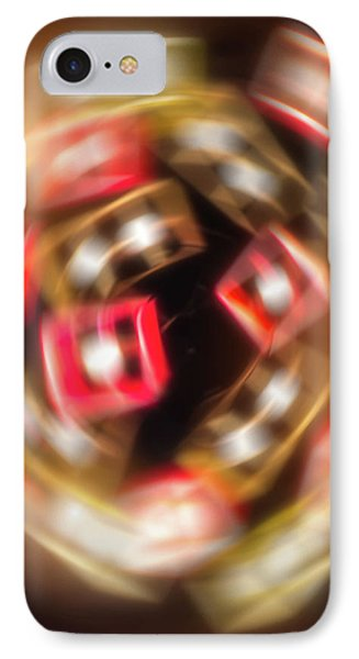 Sphere Of Light IPhone Case by Wim Lanclus