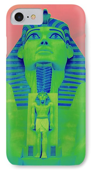 Sphinx And Pink Sky IPhone Case