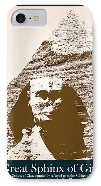 Sphinx Of Giza IPhone Case
