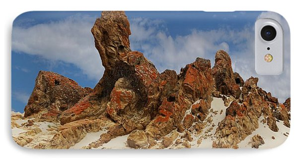 Sphinx Of South Australia IPhone Case by Stephen Mitchell
