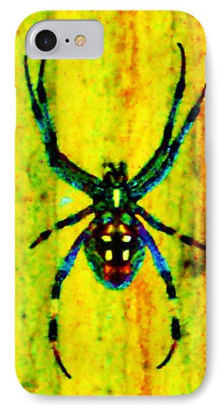 Spider Phone Case by Daniele Smith