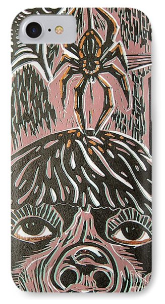 Spider Fear IPhone Case