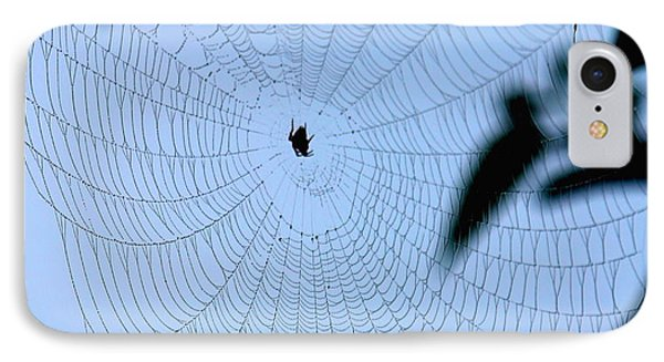 Spider In Web IPhone Case