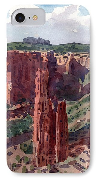 Spider Rock Overlook IPhone Case by Donald Maier