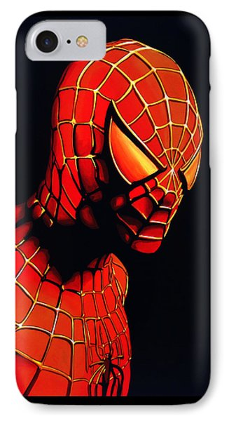 Spiderman IPhone Case by Paul Meijering