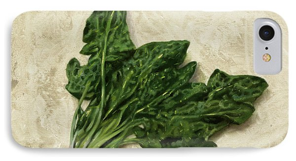 Spinach iPhone 7 Case - Spinaci by Guido Borelli