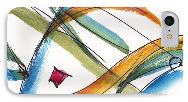 Spindle Back Abstract #2 IPhone Case by Pat Katz