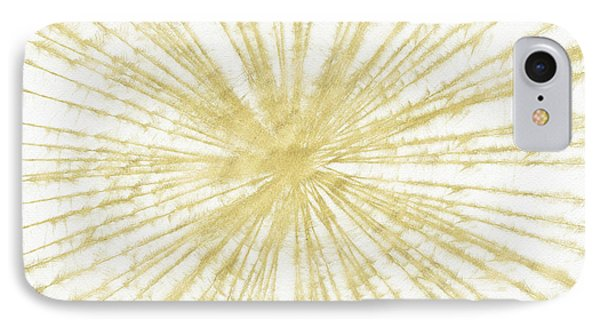 Spinning Gold- Art By Linda Woods IPhone Case