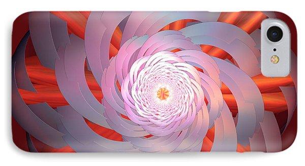 Spinning Pinwheel Phone Case by Deborah Benoit