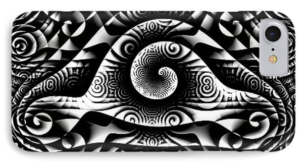 Spiral Abstract 1 IPhone Case
