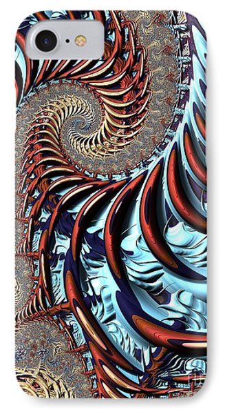 Spiral Cage IPhone Case by John Edwards