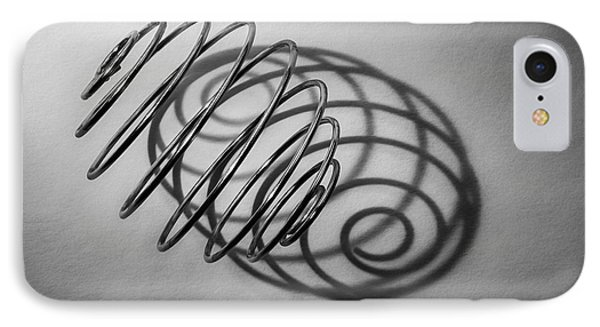 Spiral Shape And Form IPhone Case by Scott Norris