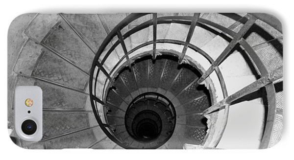 IPhone Case featuring the photograph Spiral Staircase At The Arc by Donna Corless