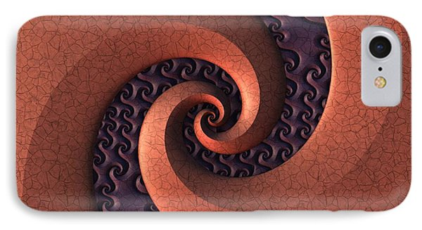 IPhone Case featuring the digital art Spiralicious by Lyle Hatch