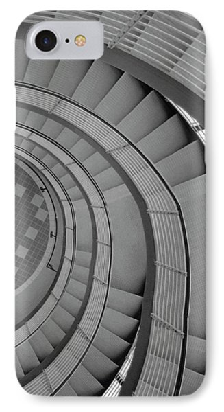 Spiraling Down  IPhone Case