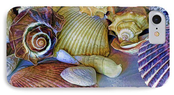 IPhone Case featuring the photograph Spirals And Ridges 12 by Lynda Lehmann