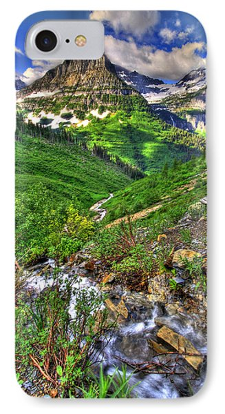 Spires And Stream IPhone Case