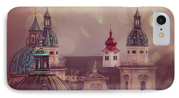Spires Of Salzburg  IPhone Case by Carol Japp