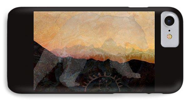 Spirit Bear # 6 IPhone Case by Ed Hall