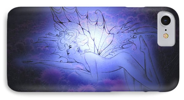 IPhone Case featuring the painting Spirit Fay by Ragen Mendenhall