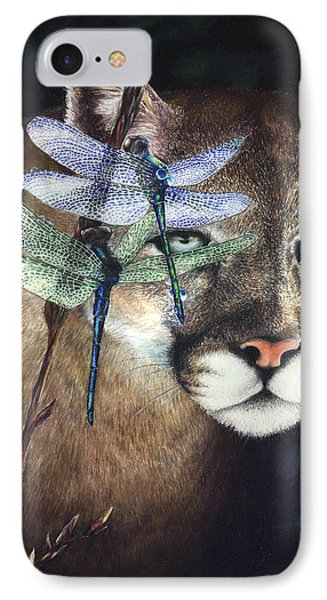 IPhone Case featuring the painting Spirit Guides by Ragen Mendenhall
