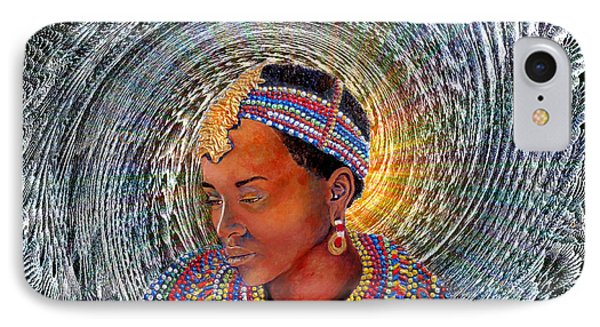 Spirit Of Africa Phone Case by Michael Durst